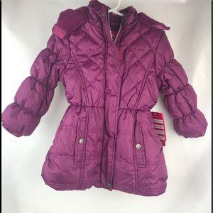 Pink Platinum Girls Coat Sz 4